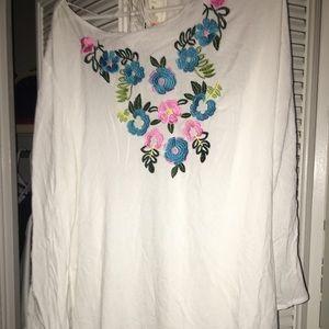 Cute floral tunic / dress